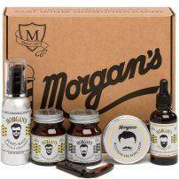 Подарочный набор для ухода за бородой и усами Morgan