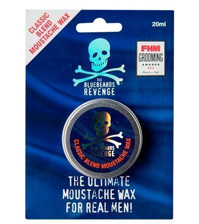 Воск для усов THE BLUEBEARDS REVENGE CLASSIC BLEND 20мл.