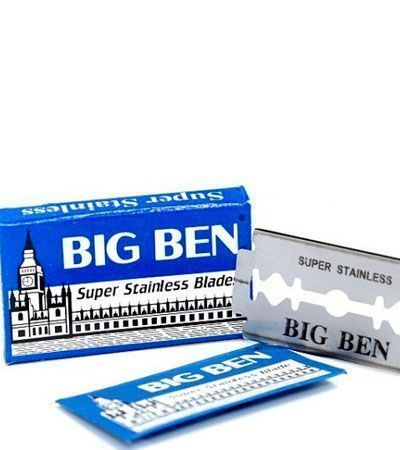 Лезвия для бритья Big Ben Super Stainless 5шт.