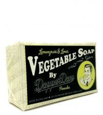 Вегетарианское мыло Dapper Dan Lemongrass & Lime Vegetable Soap -190 гр