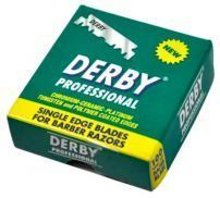 Лезвия для шаветты Derby Professional Single Edge Razor Blades