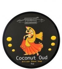 Мыло-крем для бритья ARTISAN ACCOUTREMENTS COCONUT OUD PHOENIX SHAVING SOAP -114гр.