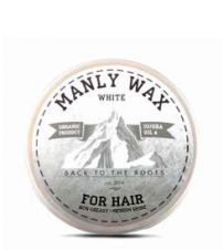 Воск для волос MANLY WAX WHITE 100мл.