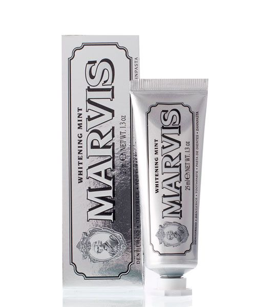 Зубная паста Marvis (Отбеливающая мята )Whitening Mint Travel Size 25ml