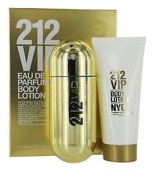 CAROLINA HERRERA 212 VIP WOMAN, (п) 50ml+лосьон д/тела 75ml