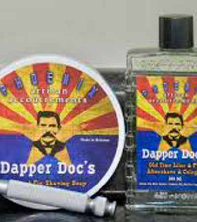 Мыло-крем для бритья ARTISAN ACCOUTREMENTS DAPPER DOC PHOENIX SHAVING SOAP 114гр.