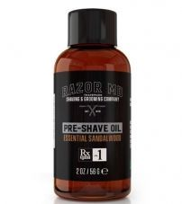 Масло до бритья Сандал Razor MD Pre-Shave Oil Essential Sandalwood - 60 мл