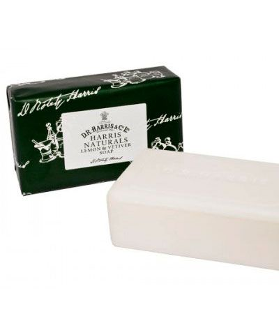Мыло D R Harris Naturals Lemon and Vetiver Soap 200g