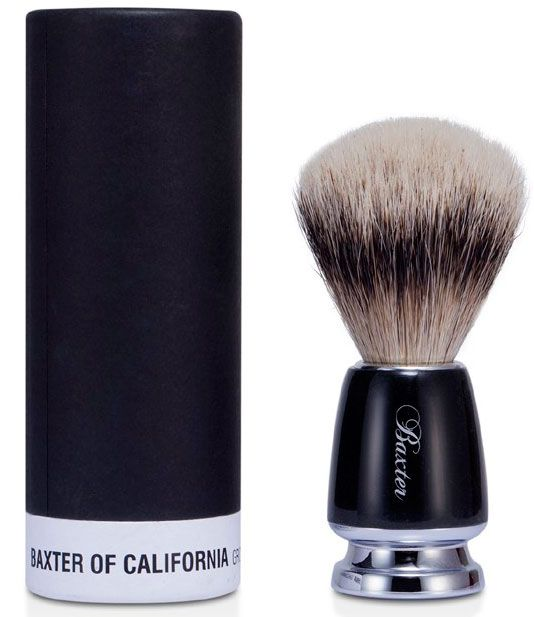 Помазок Silver Badger Baxter of California