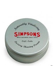 Крем для бритья Simpson Luxury Vanilla & Rose Shaving Cream -125мл.