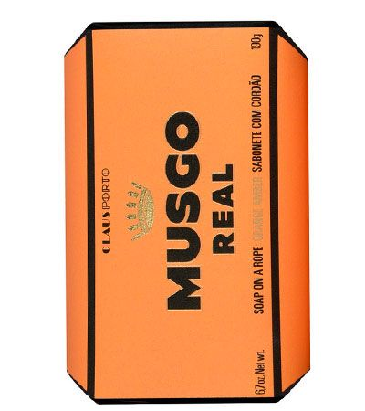 Мыло для душа на веревке Musgo Real, Orange Amber, 190 гр