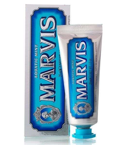 Зубная паста Marvis (свежая мята) Aquatic Mint Travel Size 25ml