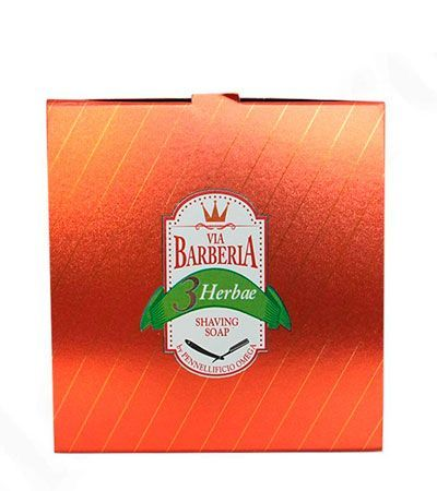 Мыло для бритья Via Barberia Herbae Shaving Soap -150г.