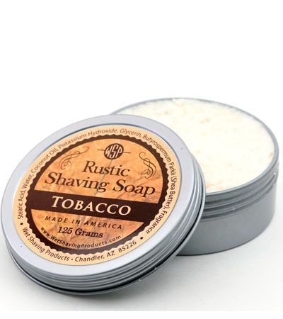 Мыло для бритья Wsp Rustic Shaving Soap Tobacco -125гр.