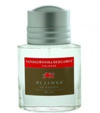 Одеколон St. James Of London Sandalwood & Bergamot -50мл.